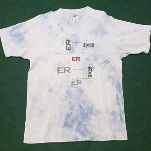 Vintage 1996 Warner bros Emergency Room promo tee